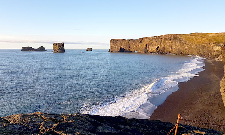 South Coast | The Black Beach | Icelandic Taxi Tours